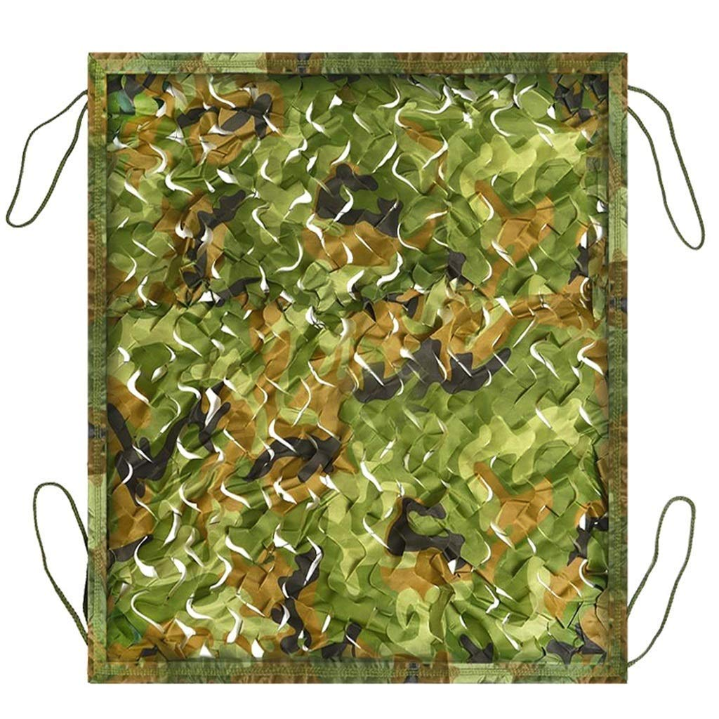 Forest Camouflage Net Air Defense Photo UV Predection Waterproof Sunshade Car Cover Outdoor Vegetable Shed Garden Decoration Net Thickened Oxford Cloth (Size   4  6m)