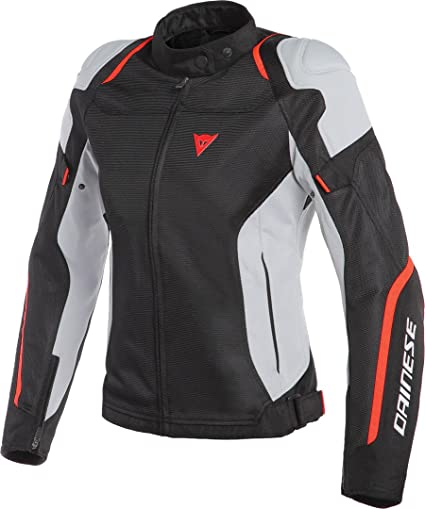f73fd15cee2 Image Unavailable. Image not available for. Color: Dainese Air Master Tex  Women's Street Motorcycle Jackets - Black/Glacier-Gray/Fluo