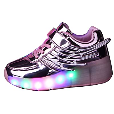 Lovers LED Night Light Couples Men Women Trainer Roller Skates Sneaker Shoe Xmas