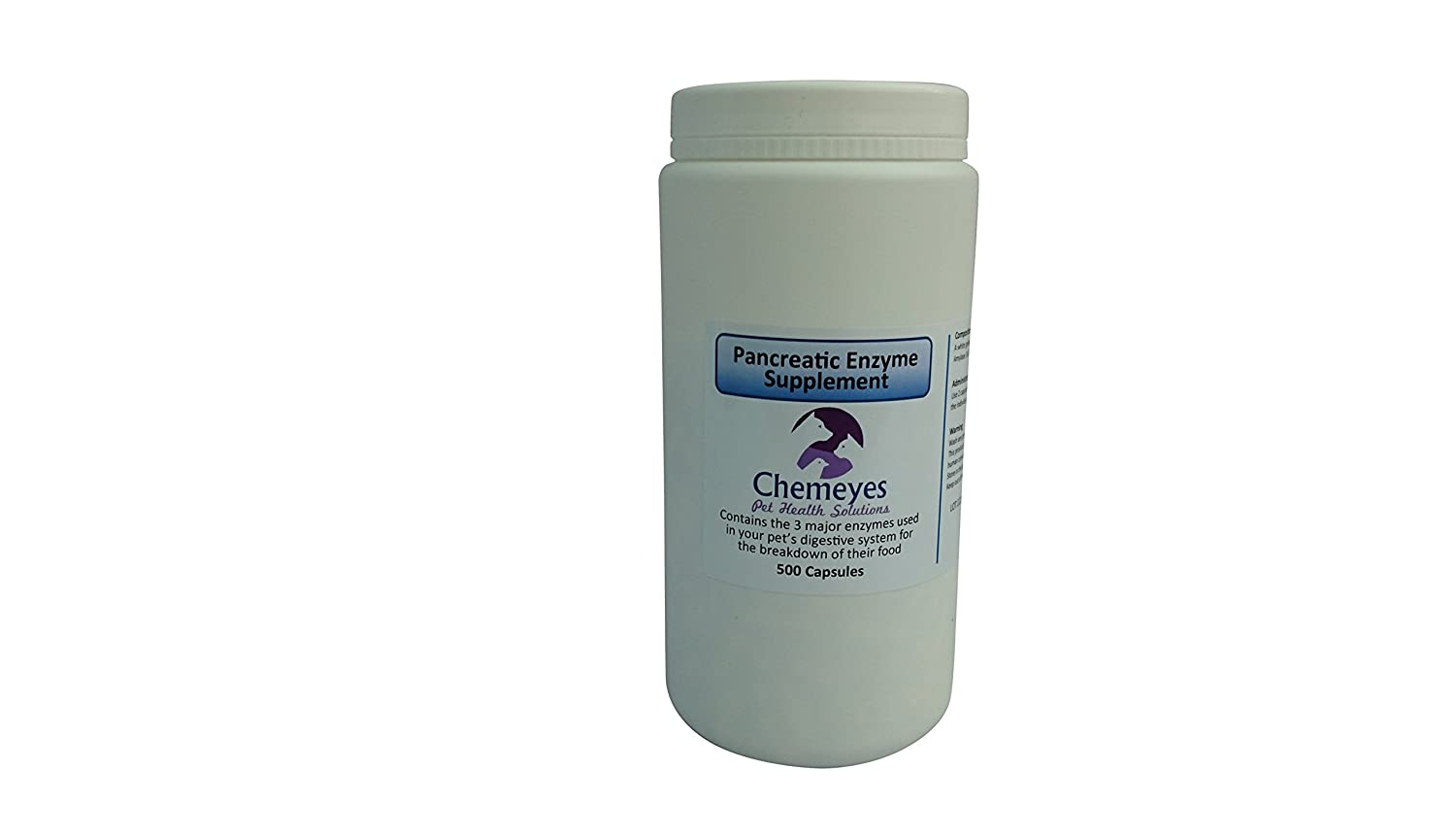 Chemeyes Pancreatic Enzyme Capsules x 100: Amazon.es: Hogar