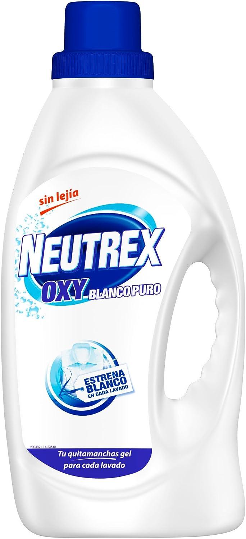 Neutrex Oxy Blanco Puro Quitamanchas sin lejía - 1.6L: Amazon.es ...