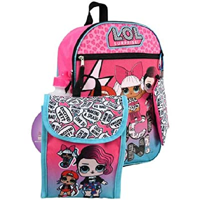 "16"" Backpack 5pc Set LOL Surprise Standard 