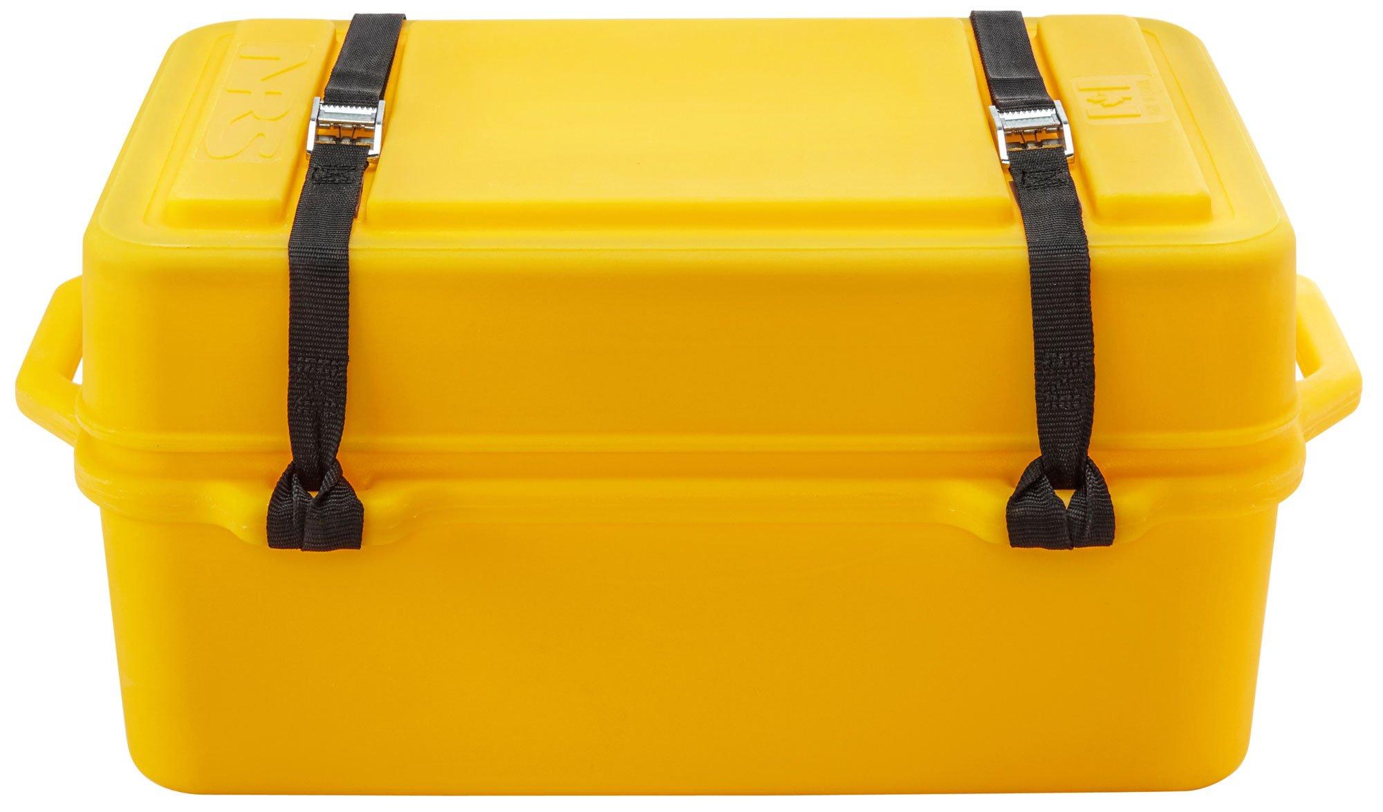 NRS Boulder Camping Dry Box-Yellow