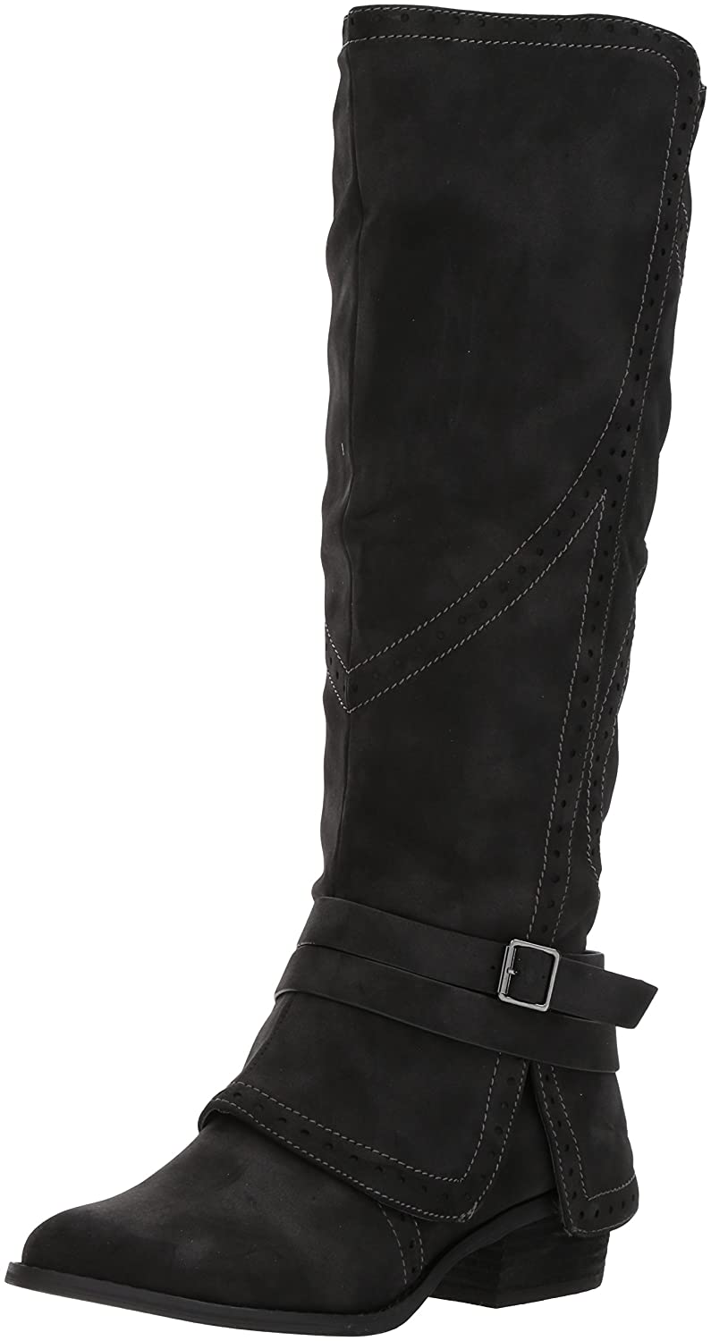 Not Rated Women's Yoko Riding Boot B06Y44SK32 8.5 B(M) US|Black