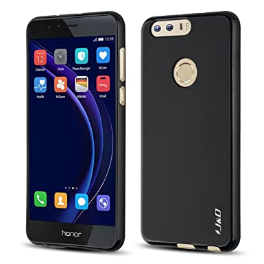 detailed look 0475e fc010 J&D Case Compatible for Huawei Honor 8 Case, [Drop Protection] [Slim  Cushion] Shock Resistant Protective TPU Slim Case for Huawei Honor 8 Bumper  Case ...
