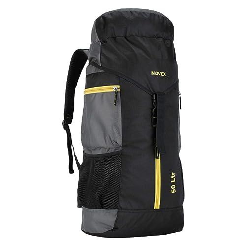 10. Novex Rucksacks Voyage Hiking Bag (Grey)