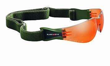 Swiss Eye Sportbrille Outbreak Cross Country, matt black dask green orange, 40212