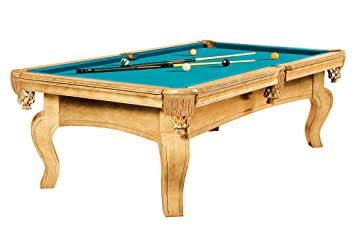 Mesa de billar Dynamic Dynasty, 8 ft. (Soporte), roble, Pool ...