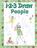 123 Draw People: A step by step drawing guide for young artists