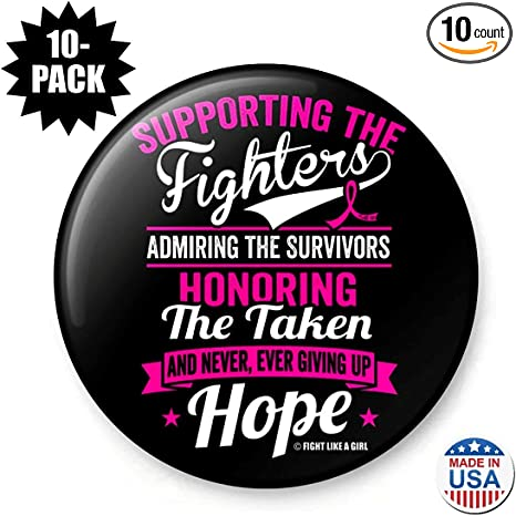 Fight Like a Girl Supporting Admiring Honoring Unisex T-Shirt Assorted Colors