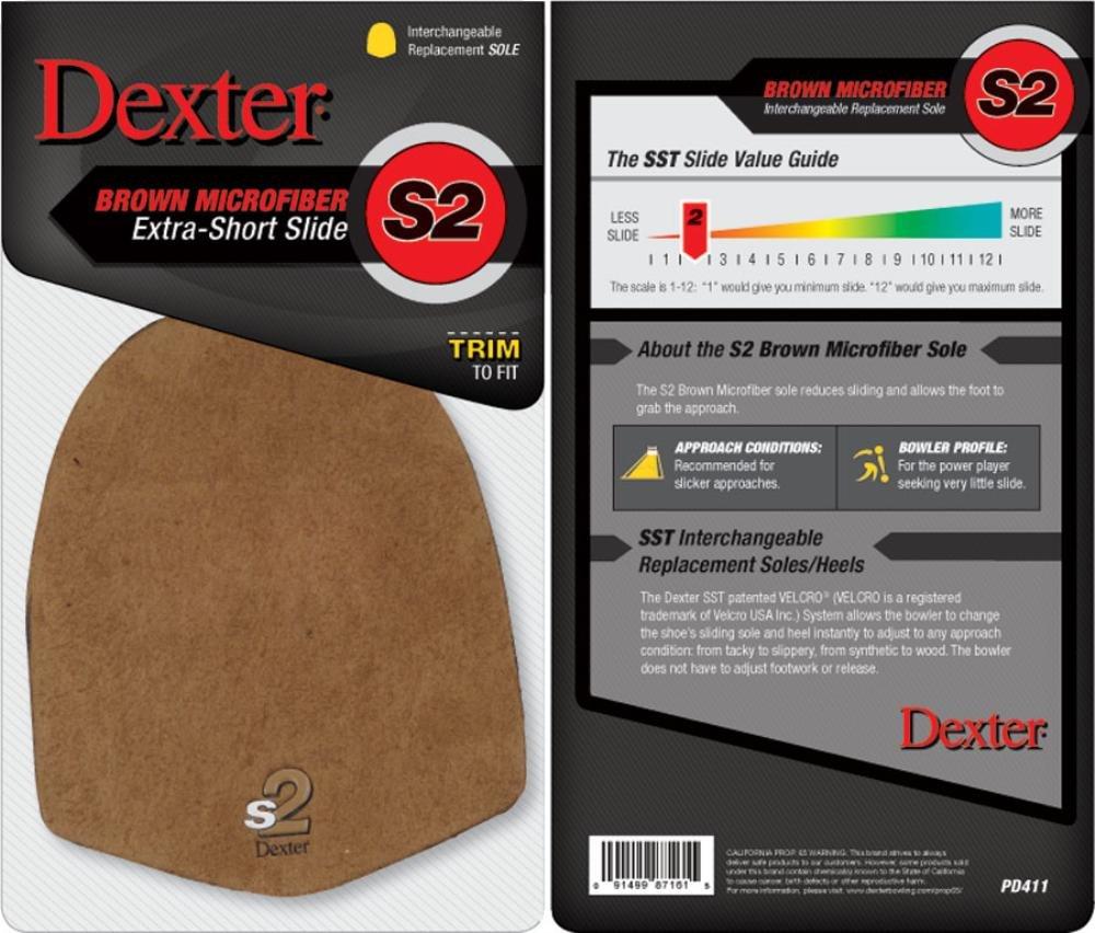 Dexter S2 Talon de bowling Marron PD411