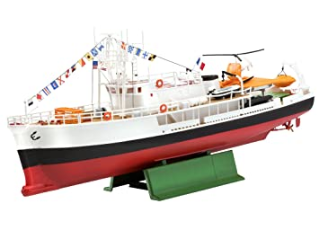 Revell 05101 1/125 Ocean Exploration Vessel (japan import), Boats