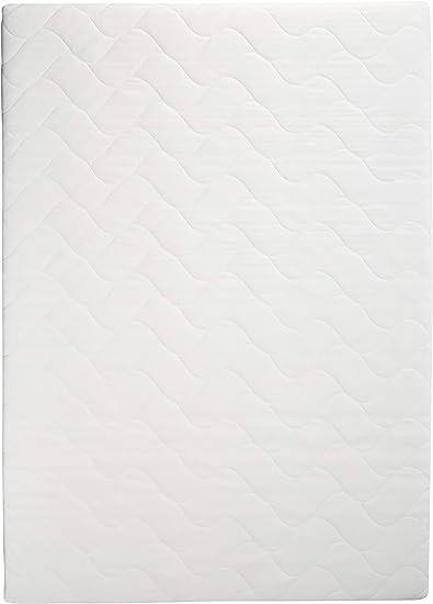 Amazon Basics - Colchón de espuma de 7 zonas extraconfortable, Firmeza Media (H3) - 135 x 190 cm