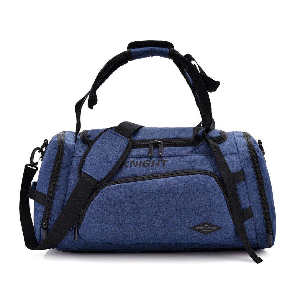 Hulorry Travel Duffle Bag, Duffel Bags Shoulder Bag Lightweight Large Multifunctional Waterproof Outdoor Sports Handbag for Luggage Gym Climbing Hiking Camping Travel