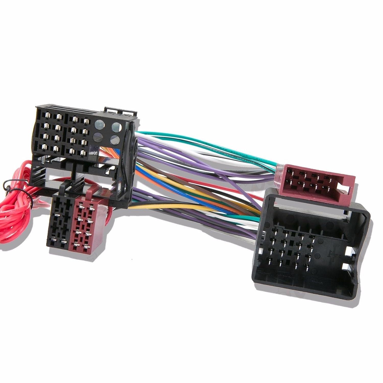 Inex CT10AU01 Kit Mains Libres Bluetooth pour Voiture avec Harnais en T pour Audi A6 Parrot