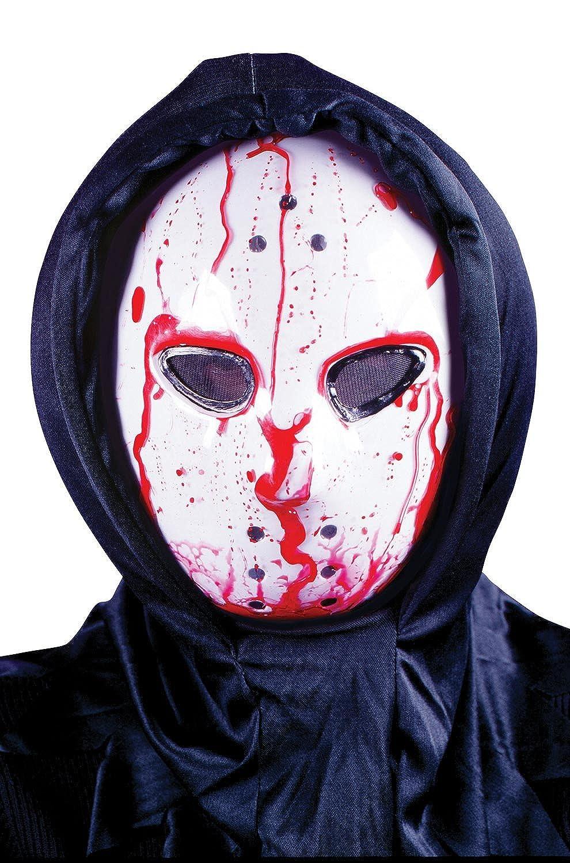Amazon.com: Hockey Mask - Dripping Bloody Bleeding Halloween ...