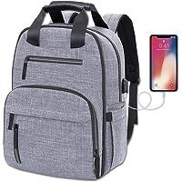 Pañalera Moderna Mochila Backpack USB Ligera de Calidad Gran Capacidad Viajes y Ciudad.