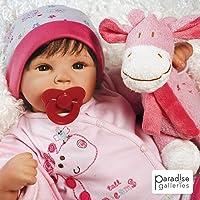Paradise Galleries Reborn Baby Doll Lifelike Tall Dreams Gift Set Ensemble, 19-inch...