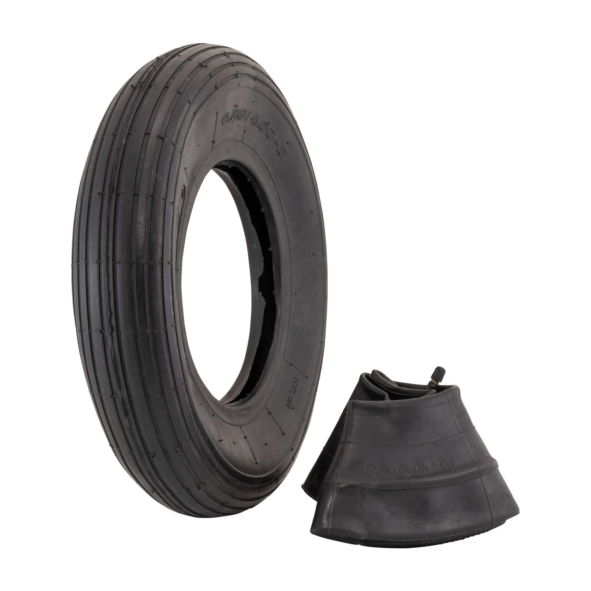4.80/4.00-8'' Replacement Pneumatic Wheel Tire and Tube by Marathon Industries