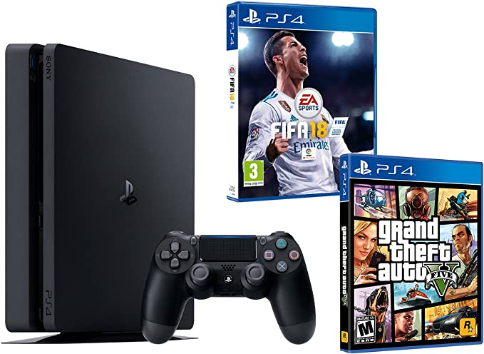 Negras negro FIFA 18 + GTA V Noir 1To: Amazon.es: Informática