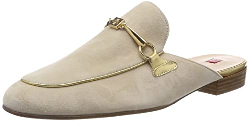 Högl 5-10 1802 0800, Mocasines para Mujer, Beige (Cotton), 38.5 EU: Amazon.es: Zapatos y complementos