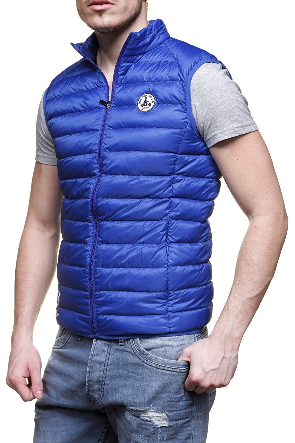 Just Over The Top JOTT - Chaqueta - para Hombre Azul Small  Amazon.es  Ropa  y accesorios 8cfa2b10906