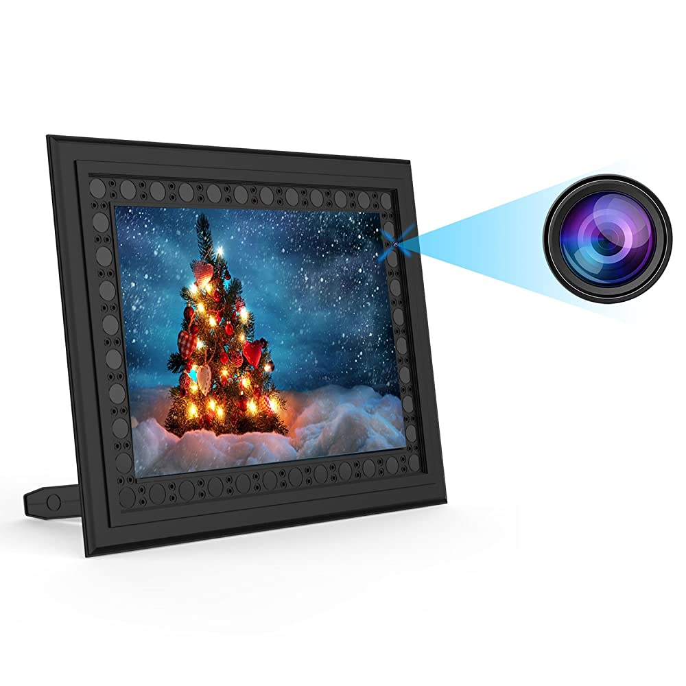 7. Conbrov T10 HD 720P Photo Frame Hidden Spy Camera Night Vision Motion Activated