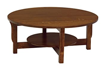 Merveilleux Amish Heirlooms Solid Cherry Landmark Round Coffee Table, 42u0026quot; X  42u0026quot; ...