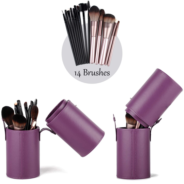 Makeup Brush Bag Travel Brushes Case Organizer Holder Dustproof for Women and Girls