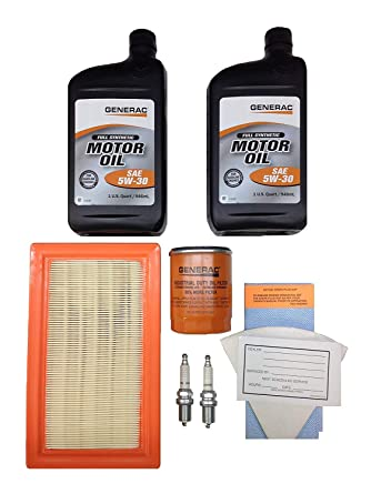 Amazon.com: Generac Kit de mantenimiento 990 14 – 17 KW 5 ...