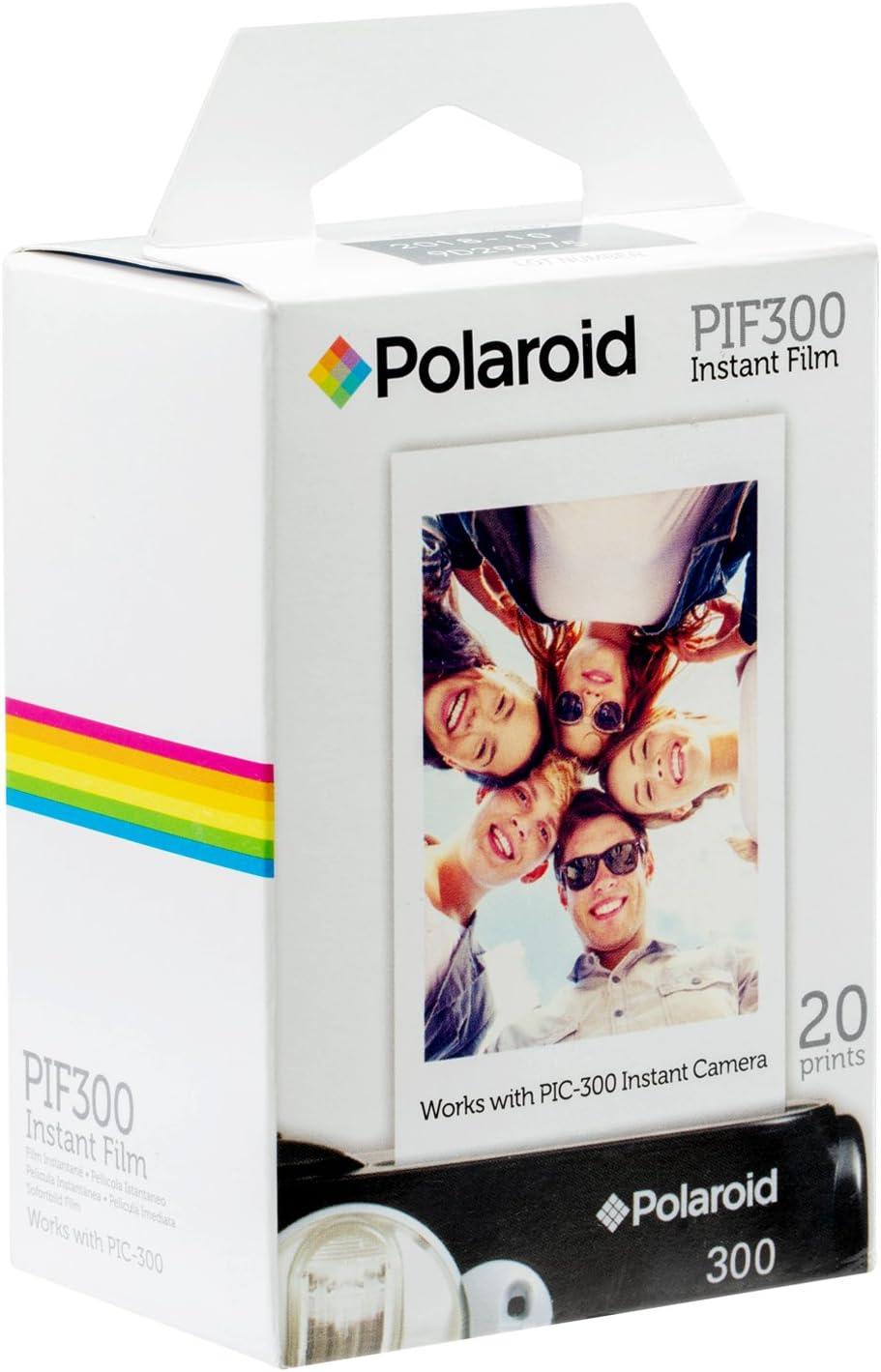 Polaroid PIF300 - Película fotográfica instantánea (20 impresiones): Amazon.es: Electrónica