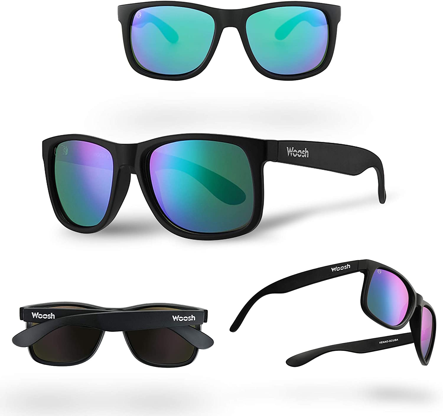 Polarized Sunglasses for Men and Women Color Mirror Lens Light Weight UV Protected Stylish