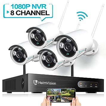 Amazon.com: HeimVision Sistema de cámara de seguridad ...