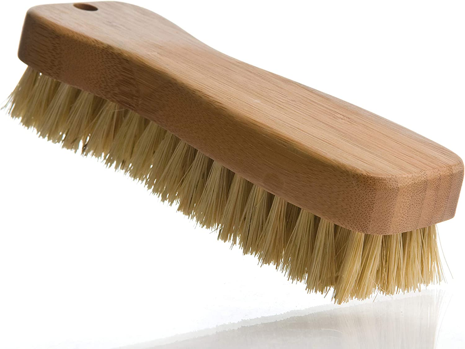 Lola Eco-Clean Tampico Bottle Brush with Bamboo Handle