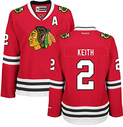 Duncan Keith Chicago Blackhawks Home Red Women s Premier Jersey by Reebok  Small c85167f72