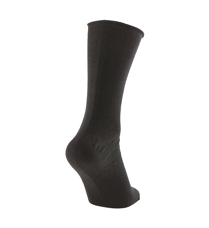 Calcetines SIN COSTURAS y SIN GOMA (3 pares) mujer. Calcetín alto, sin costuras y sin goma de primera calidad, evitan los roces y señales de presión.
