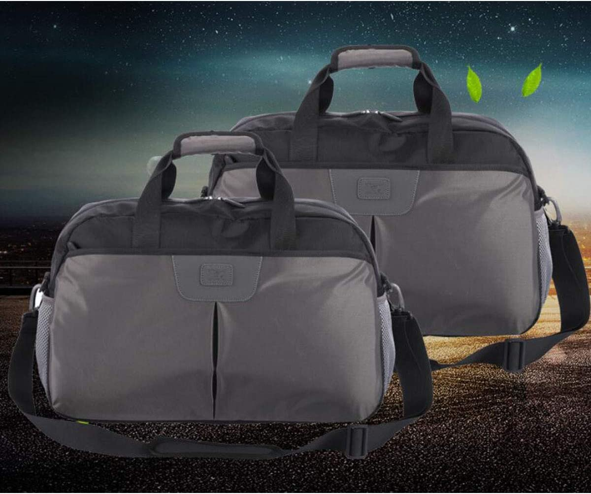 Gray Size: 491732cm Color : Gray Multi-Function Large Capacity Business Short-Distance Travel Bag Kaiyitong Fitness Bag