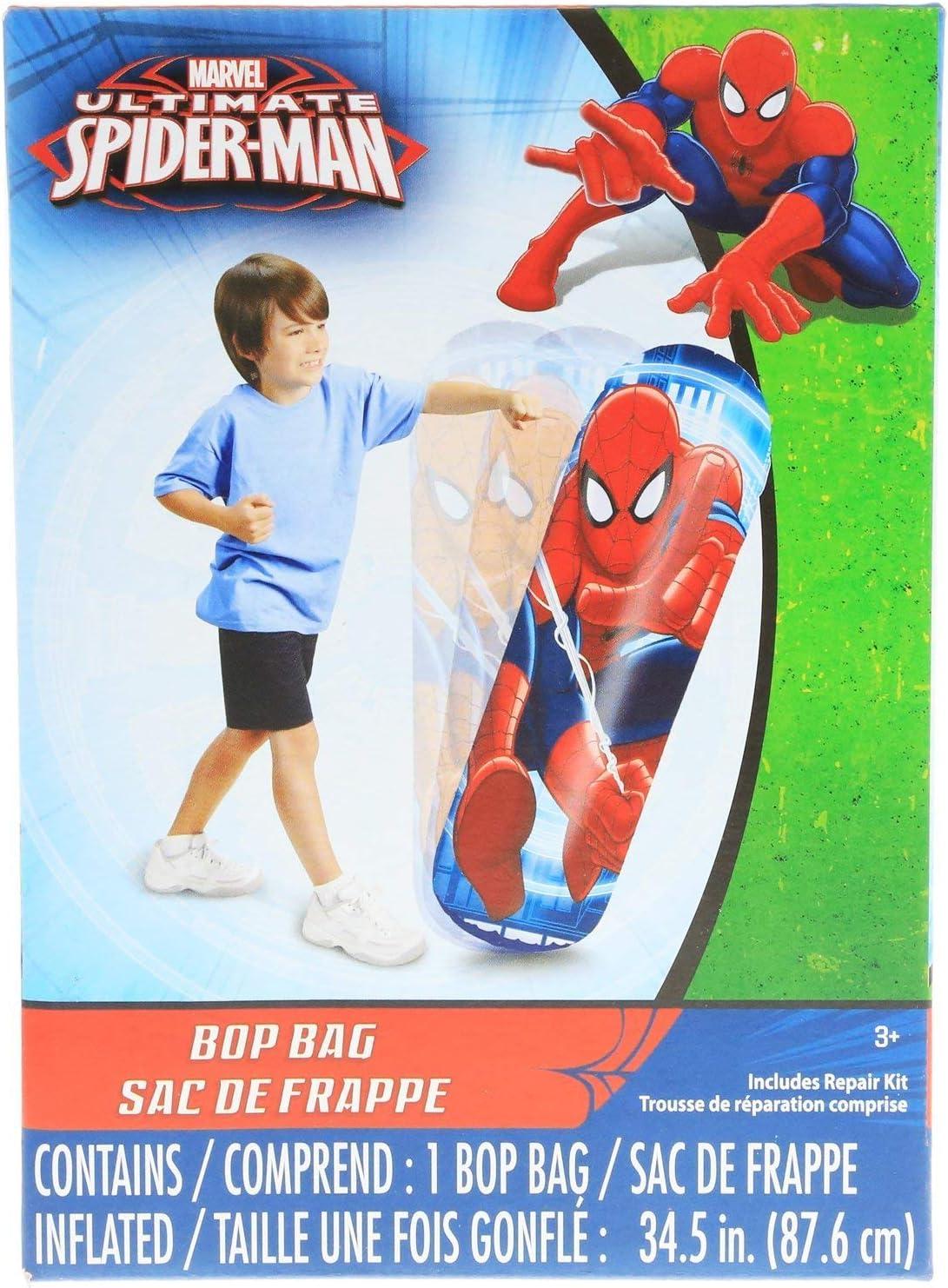 Amazon.com: Bolsa inflable para boxeo de Spiderman de ...