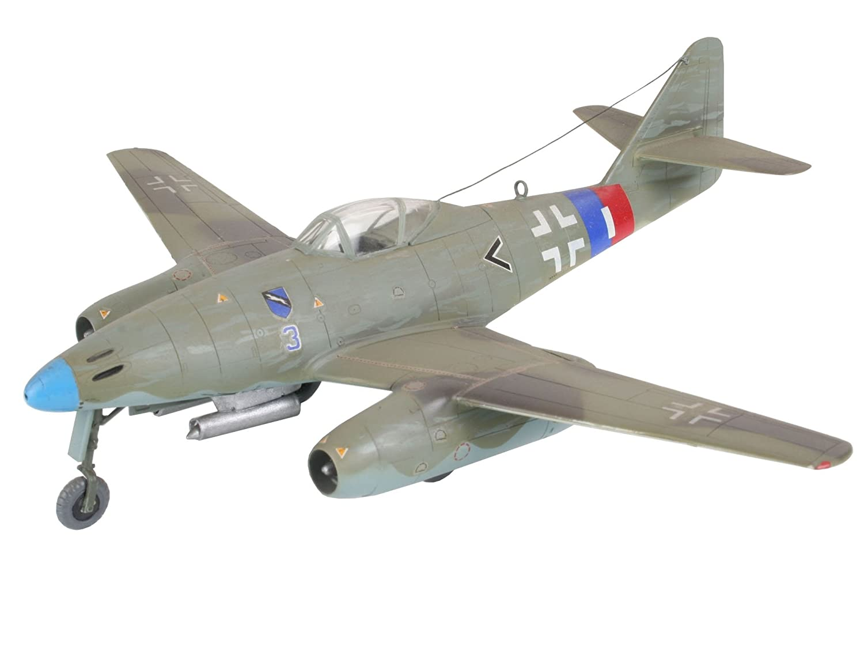 importado de Alemania Messerschmitt Me 262 A1a escala 1:72 Revell Modellbausatz 04166