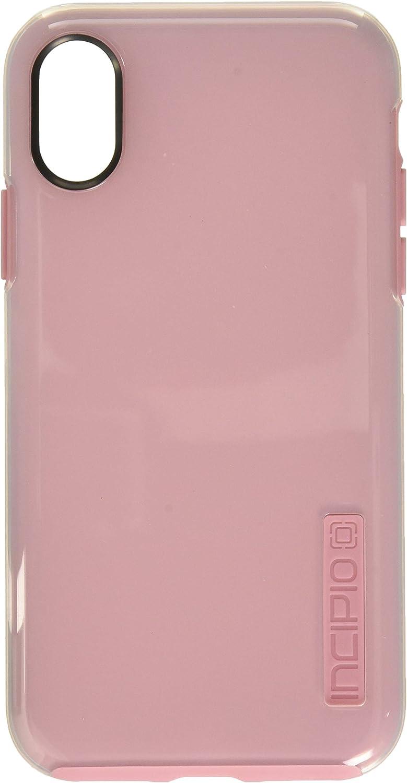 Apple iPhone Xs/X Incipio DualPro Case-Raspberry Ice