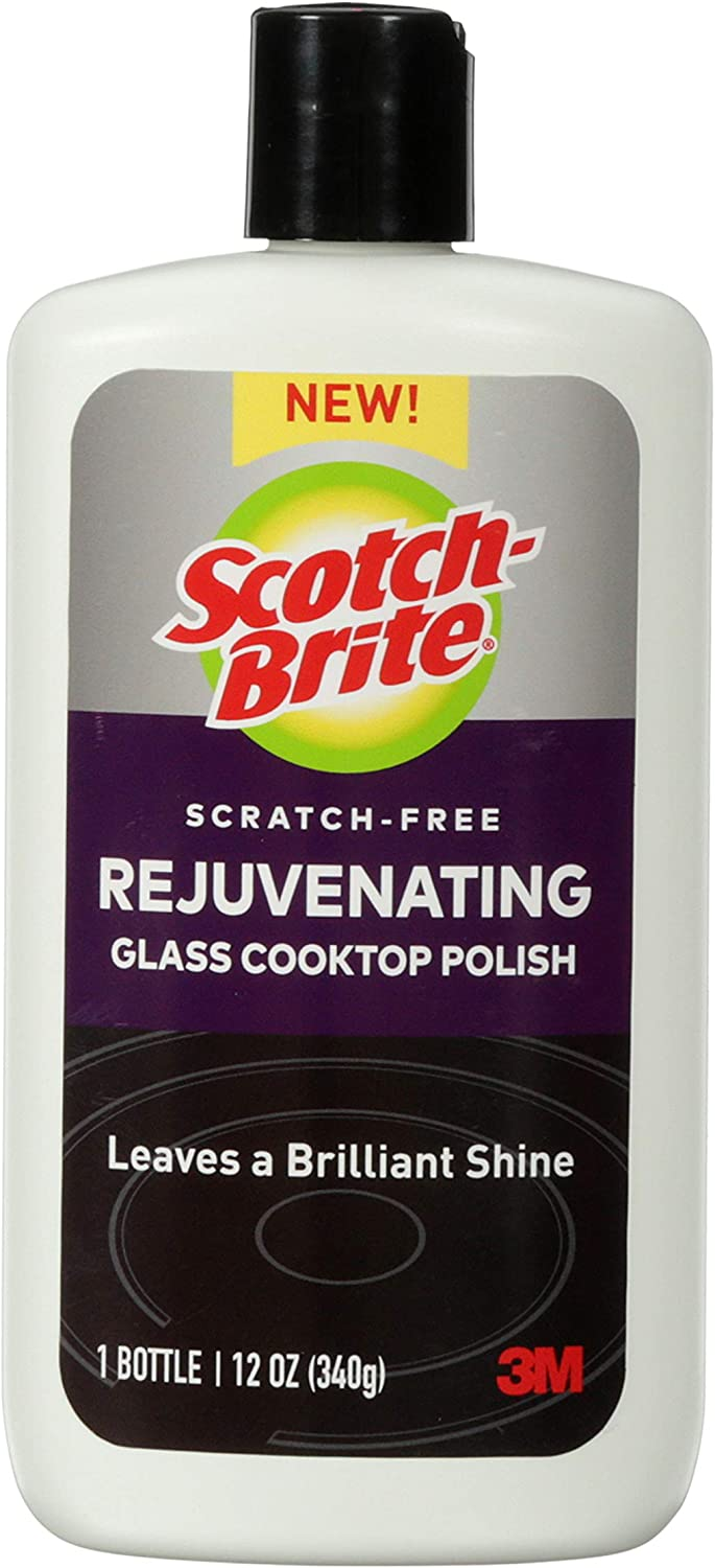 Scotch-Brite Cooktop Rejuvenator, 2 Bottles, Multi-Color