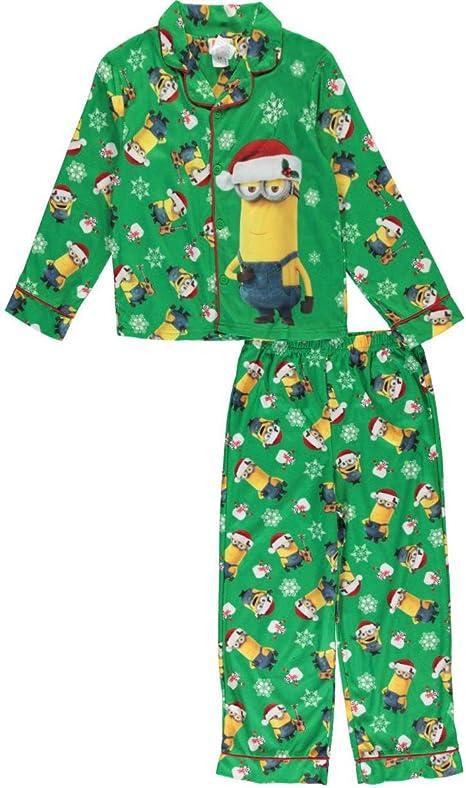 Sizes 4-10 MINIONS New York City Boys Fleece Pajama Set