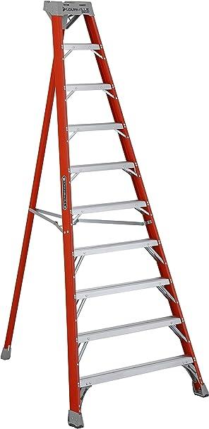 Louisville escalera ft1504 trípode de fibra de vidrio escalera tipo Ia, kg capacidad de carga, 4, cable: Amazon.es: Bricolaje y herramientas