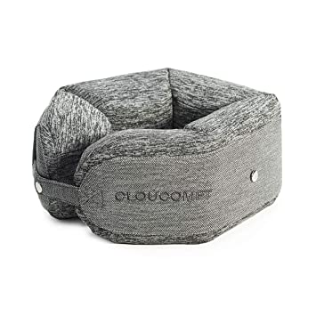CLOUCOMFT- Almohada de viscoelástica para el Cuello de Viaje ...