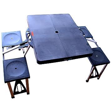 Campingtisch Campingsitz Campingbank Alu Klappbar Camping Tisch Bank Stuhl