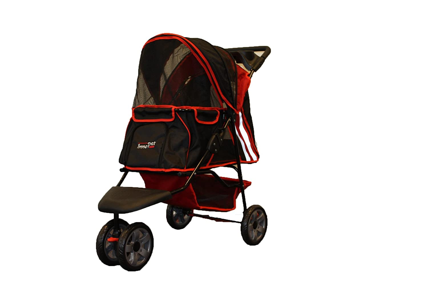 3 Wheel All Terrain Pet Dog Cat Jogging Stroller Pushchair
