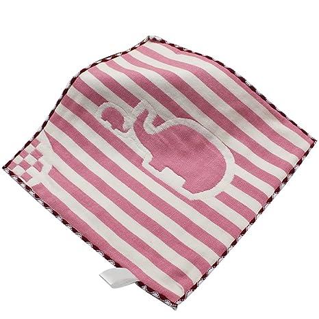Pengyu - Toallas de mano para bebé (25 cm x 25 cm), diseño