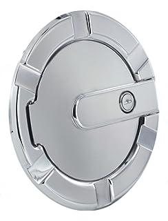 Flat Black All Sales 6107KL 7 1//8 Ring//5 1//8 Ami Race Style Billet Fuel Door