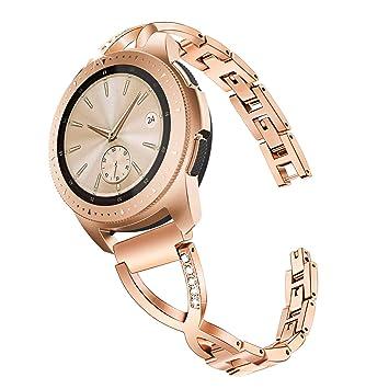 TRUMiRR para Galaxy Watch 42mm Bandas de Mujer, Pulsera de ...
