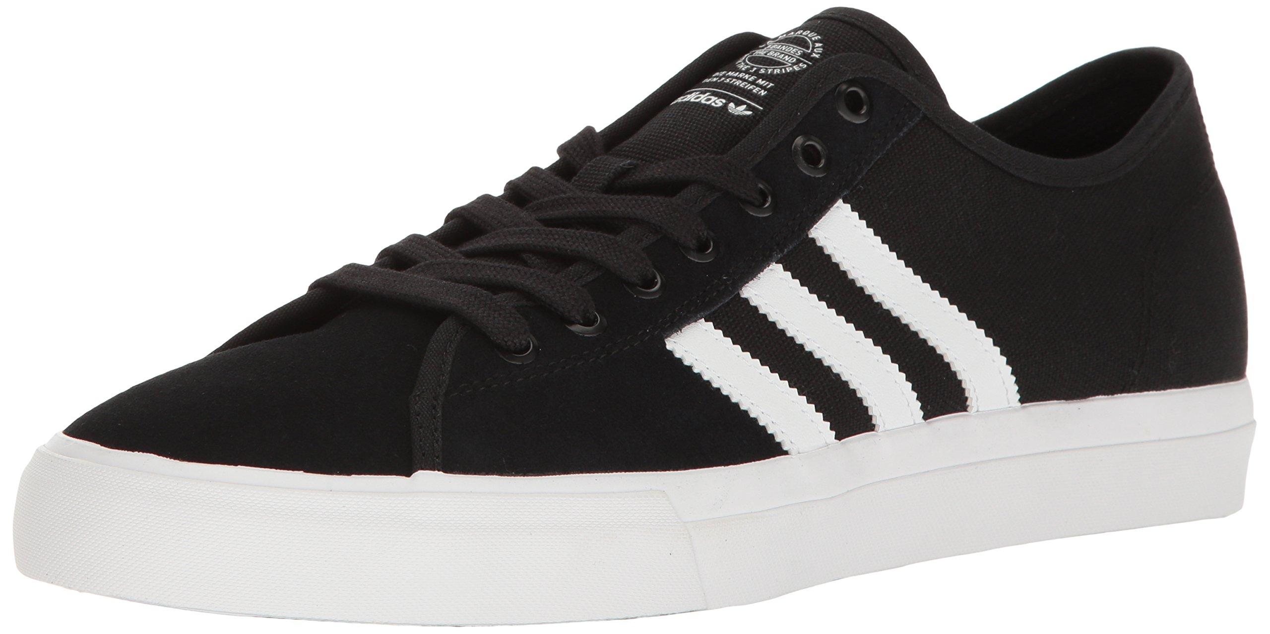 adidas Originals Men's Matchcourt RX Shoes, Core Black/White/Core Black, (10.5 M US)